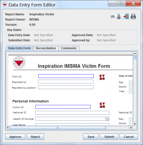 Use The Data Entry Form Editor Window Imsma Wiki
