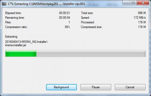 Combine several zip files - IMSMA Wiki