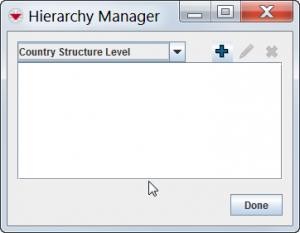 Hierarchy Manager